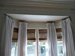 Kitchen Bay Window Curtain Ideas