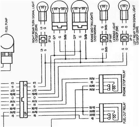 cbr 600 f4i wiring diagram auto electrical wiring diagram