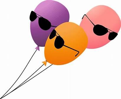 Balloons Balloon Birthday Clipart Funny Fun Cia