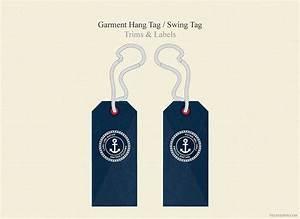 garment hang tag swing tag illustrations creative market With clothing hang tag template