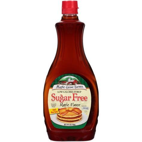 Kroger Bloomfield Maple by Maple Grove Farms Sugar Free Maple Flavor Low Calorie