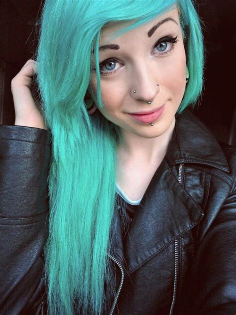 Teal Hair Hair Pinterest