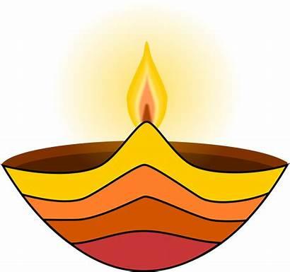 Lamp Diwali Clipart Diya Oil Vilakku Clip