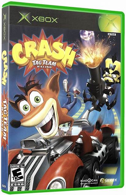 Crash Racing Team Tag Games Box Launchbox