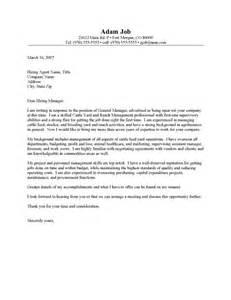 cattle ranch resume rancher cover letter sle resume cover letter