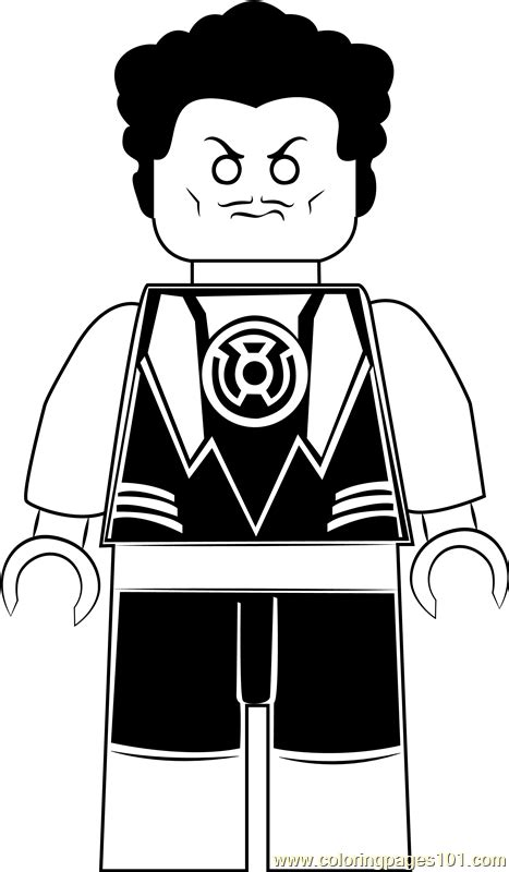 lego sinestro coloring page  kids  lego printable coloring pages   kids