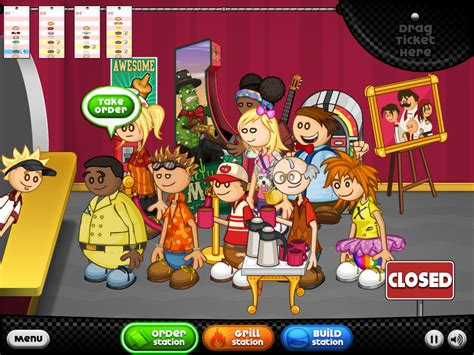 papa louie cuisine how to win papa louie version free software