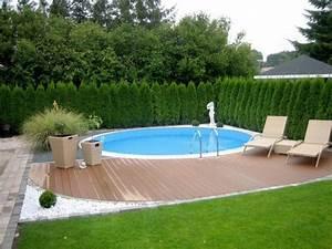 Gartengestaltung Mit Pool : runder pool im garten designs almo drg von runder pool im ~ A.2002-acura-tl-radio.info Haus und Dekorationen