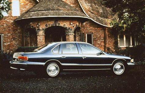1996 Chevrolet Capriceimpala Review