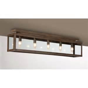 Rustic Kitchen Ceiling Light Fixtures