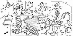 Honda Atv 2012 Oem Parts Diagram For Wire Harness
