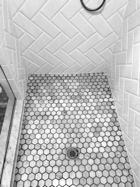 Top 50 Best Shower Floor Tile Ideas - Bathroom Flooring