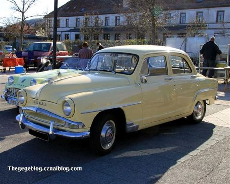 simca aronde  informations articles