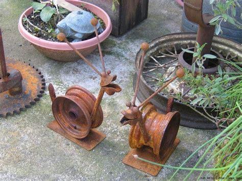 Garden Art Ideas Made From Junk Photograph