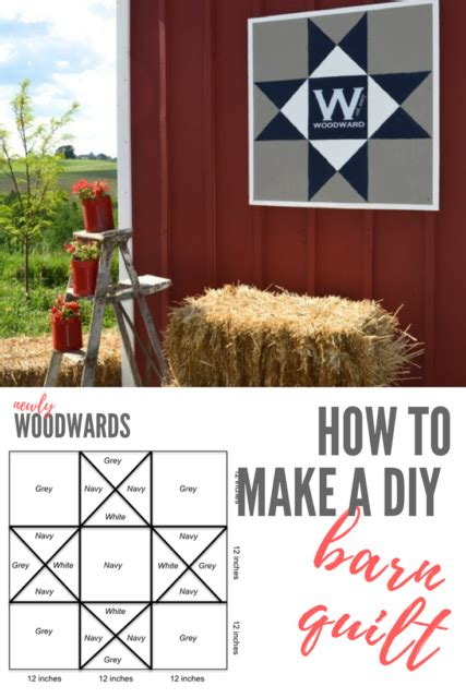 how to make a barn quilt how to make a diy barn quilt newlywoodwards
