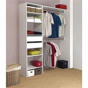 Dressing Pas Cher Conforama : armoire de chambre kit am nagement placard 180 cm 2 ~ Dailycaller-alerts.com Idées de Décoration