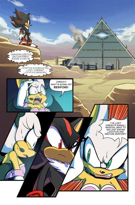 sonic forces looming shadow web comic brings  team