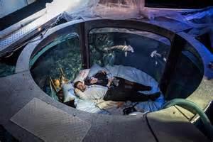 Shark Bedrooms paris aquarium s underwater bedroom