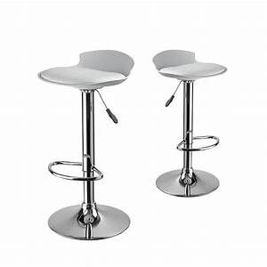 Tabouret De Bar But : lot de 2 tabourets de bar design de ~ Teatrodelosmanantiales.com Idées de Décoration