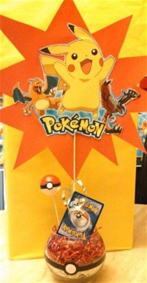 pokemon centerpiece pokemon birthday ideas pinterest