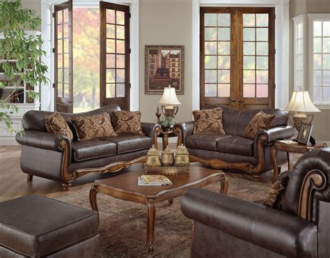leather living room furniture clearance traditional