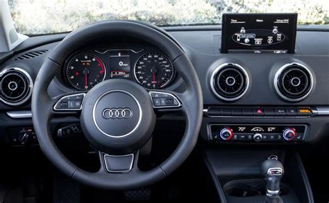 audi a3 interior 2015 audi a3 review rating pcmag