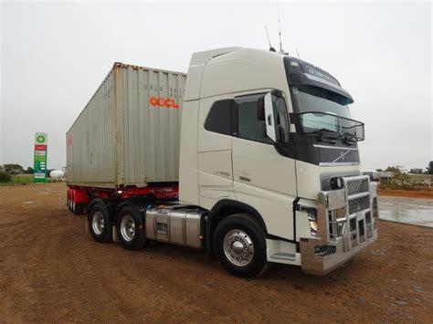 volvo trucks australia volvo fh 600 review rob sinclair and blair davies