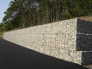Mur De Soutenement En Gabion : construire votre maison sur un terrain en pente ~ Melissatoandfro.com Idées de Décoration
