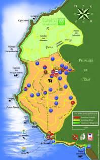 plan carte du domaine naturiste d 39 héliopolis ile du levant