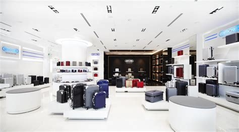 Rimowa Flagship Store Köln by The Battle Of Premium Luggage In Singapore
