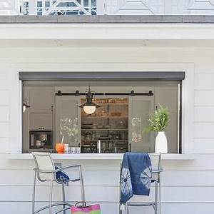 Pass Through Pantry Window Design Ideas