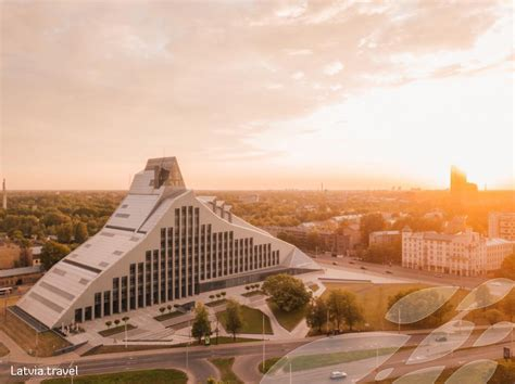 Latvijas Nacionālā bibliotēka | Latvia Travel