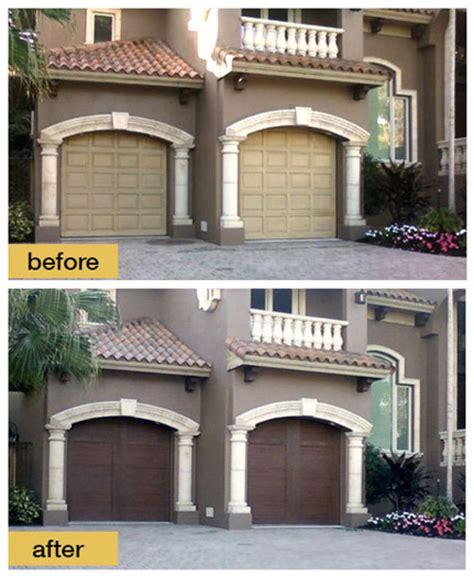 Day And Garage Doors by Clopay Door 10 Garage Door Makeovers Done In A Day