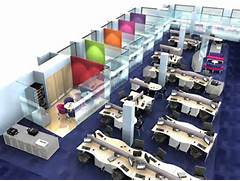 Open Office Layout Design by Open Office Design Ideas Images