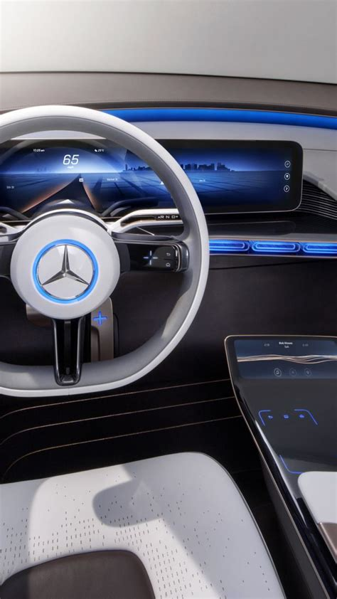 wallpaper mercedes generation eq electric cars paris