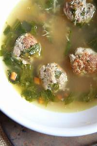 The Italian Dish - Posts - Meatball and Escarole Soup (a.k ...