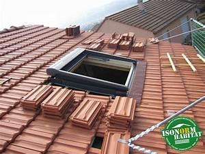 Rehausse Velux Toit Faible Pente : r alisations isonorm habitat ch ssis de toit ~ Nature-et-papiers.com Idées de Décoration