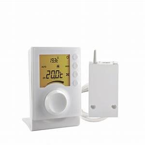 Thermostat Delta Dore Tybox 137 : delta dore thermostat delta dore tybox 137 wireless programmable thermostat with pre cabled ~ Melissatoandfro.com Idées de Décoration