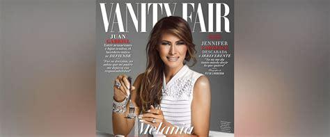 vanity fair mexico melania appears on cover of mexican vanity fair