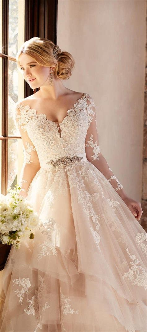 stunning winter wedding dresses belle  magazine