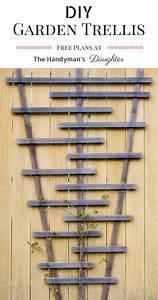 Build Your Own Garden Trellis - The Handyman's Daughter
