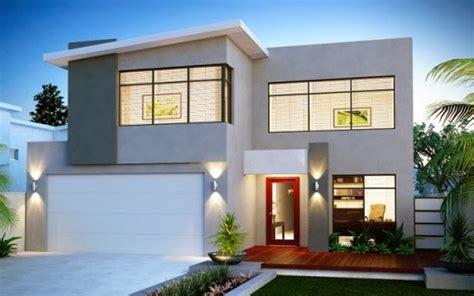 gambar desain rumah tingkat minimalis  lantai modern