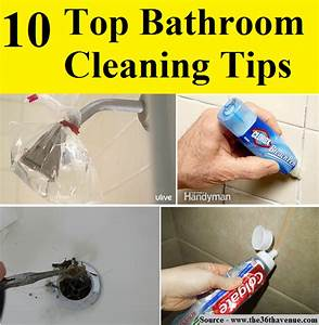 10 top bathroom cleaning tips home and life tips With best cleaning tips for bathrooms