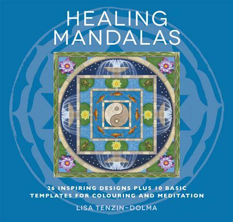 healing mandalas colouring  meditation book lisa