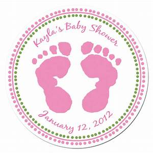 Baby shower sticker labels babyshower4u for Baby shower stickers template