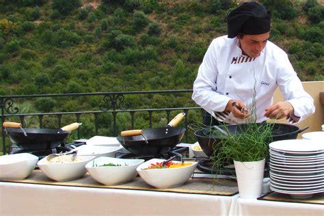 cuisine wok wok station goyo catering
