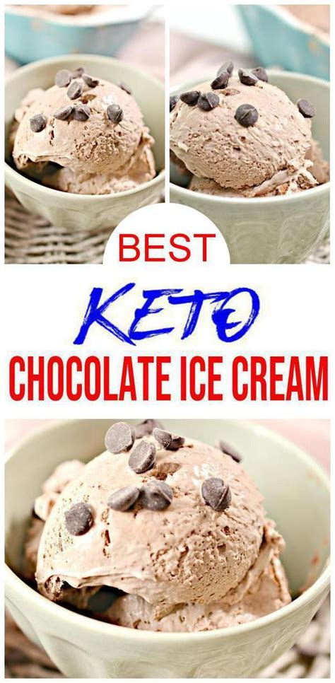 Because this recipe is made with such an unusual base and is much lower in fat than your typical ice cream, the texture is finicky. Keto Ice Cream! BEST Low Carb Keto Chocolate Ice Cream ...