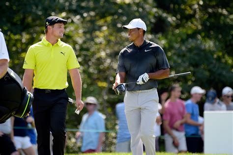 Byrson Dechambeau Tiger Woods