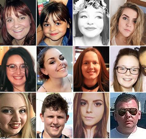 Relatives of 22 people murdered in Manchester Arena ...