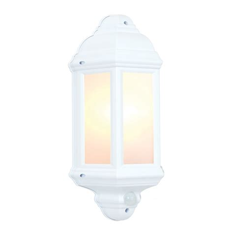 64665 halbury pir outdoor wall light automatic